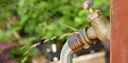 It looks like this leaking garden hose needs a new o-ring. (photo: floop/istockphoto.com)