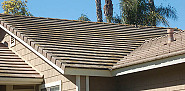 AFTER: Cement roof repair completed
