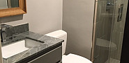 Bathroom remodel with quality materials