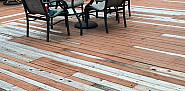 Deck repair with replacement boards