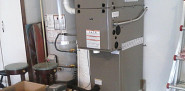 New 2-stage furnace installation