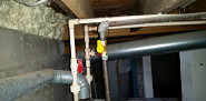 Valve replacement to stop gas leak