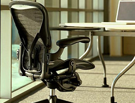 The Aeron Chair. Image courtesy of Herman Miller.