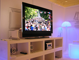 Leaving the TV and lights on when you are not in the room will cost you. (Photo: Michal Zacharzewski/sxc.hu)