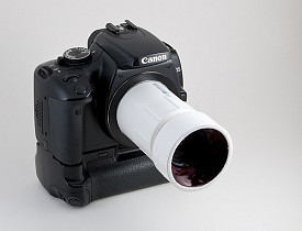 One clever DIYer made a camera lens from a PVC pipe. (Photo: daveoratox's buddy icon  daveoratox/Flickr)