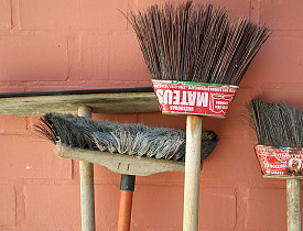 What does it take to get your significant other to pick up a broom? [bruno neves/sxc.hu]