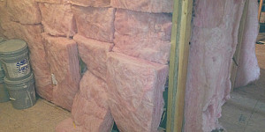 If your insulation looks like this, if you don't fix it before adding solar panels or geothermal HVAC, then you are guilty of eco-bling. --Carl